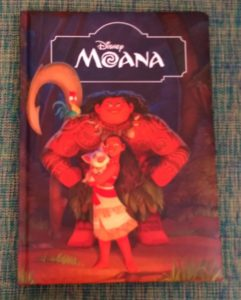 MOANA - Books to read to your children this winter vacation
