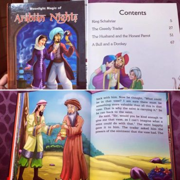 Moonlight Magic of Arabian Nights