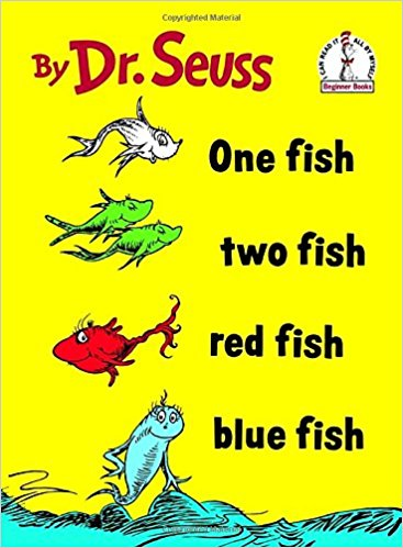 Onefish Twofish Redfish Bluefish