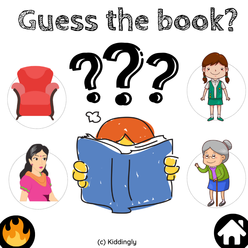 Can you guess the book? - Guess the book  1 1