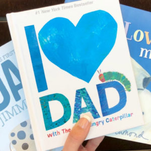 Kiddingly - I Love Dad with The Very Hungry Caterpillar Book 300x300
