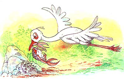 The Stork and The Crab