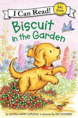 Biscuit in the Garden