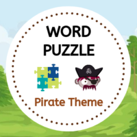 Word Puzzle - Pirate Theme