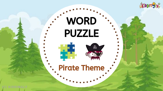 Word Puzzle – Pirate Theme