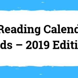 Reading Calendar For Kids - July 2019 Edition