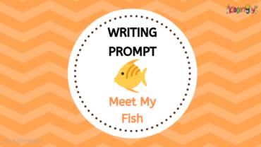 Writing Prompt – Meet My Fish