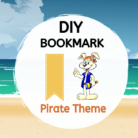 DIY Bookmark - Pirate Theme