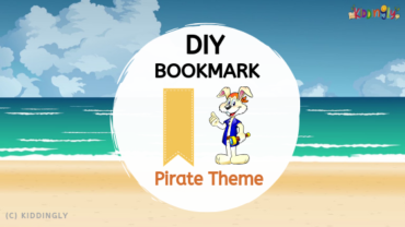 DIY Bookmark – Pirate Theme