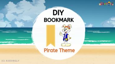 DIY Bookmark – Pirate Theme