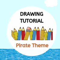 Drawing Tutorial - Pirate Theme