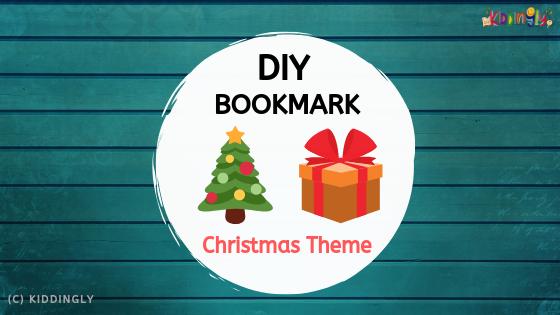 DIY Bookmark – Christmas Theme