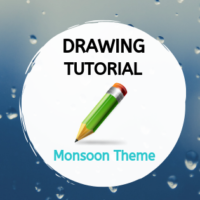 Drawing Tutorial - Monsoon Theme