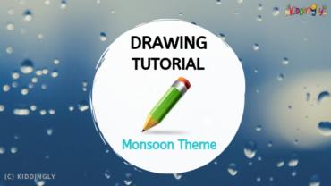 Drawing Tutorial – Monsoon Theme