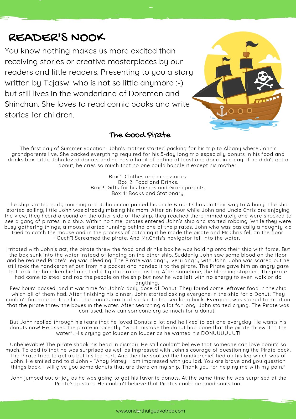 Fun With Pirates - Kiddingly Magazine - Pirates By Kiddingly page 0014