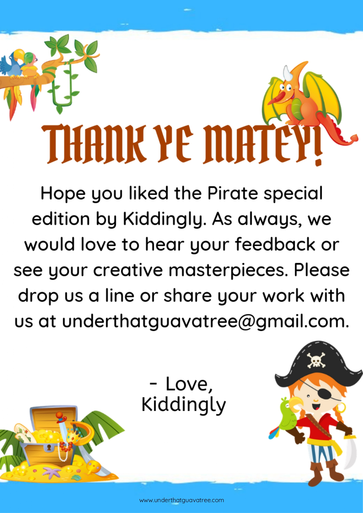 Fun With Pirates - Kiddingly Magazine - Pirates By Kiddingly page 0015