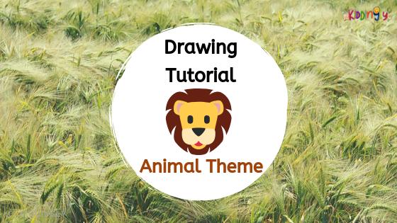 Drawing Tutorial – Animal Theme(Lion)