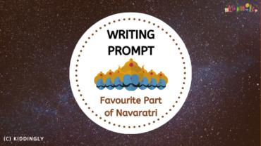 Writing Prompt – Favourite Part of Navaratri