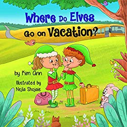 Awesome books for children on Kindle Unlimited - Where Do Elves Go On Vacation