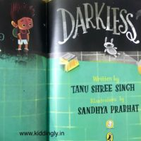 Darkless: A beautiful book about mother-child bond