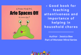 Arlo Spaces Off – Children Book Review