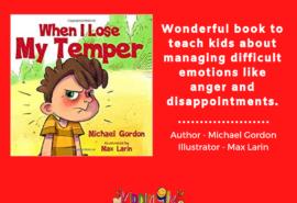 When I Lose My Temper – Children Book Review
