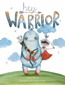 Kiddingly - Hey Warrior Title for Website 800x1044 1 230x300