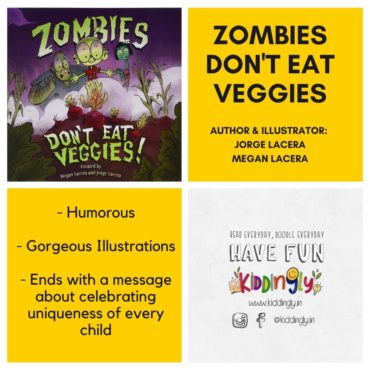 Zombies Don't Eat Veggies – Children Book Review