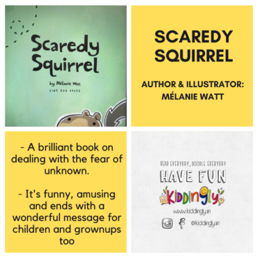 Scaredy Squirrel – Children's Book Review