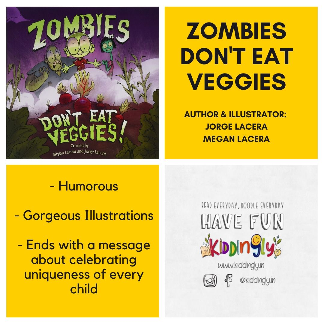 Zombies Don't Eat Veggies – Children Book Review
