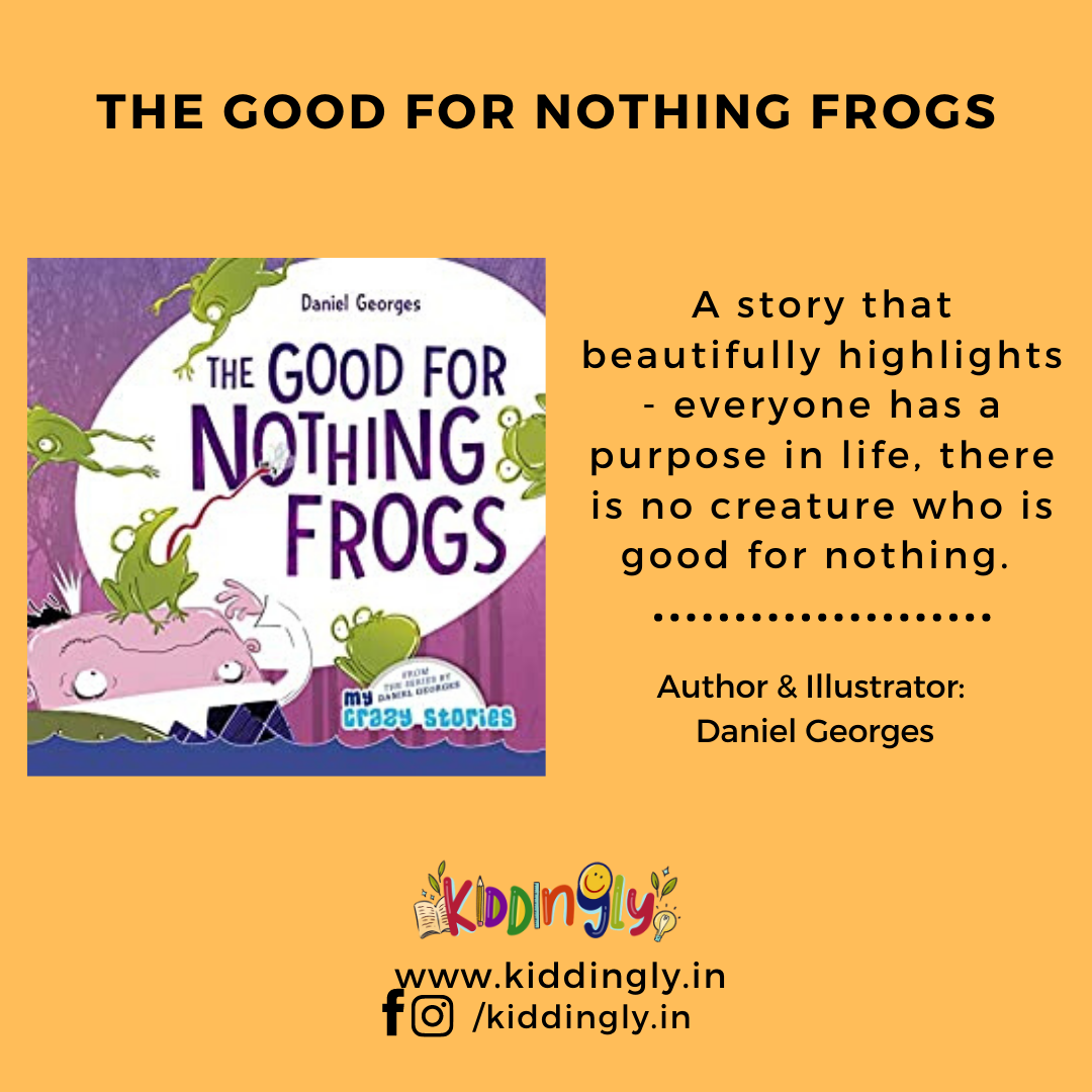 The Good For Nothing Frogs: Children's Book Review