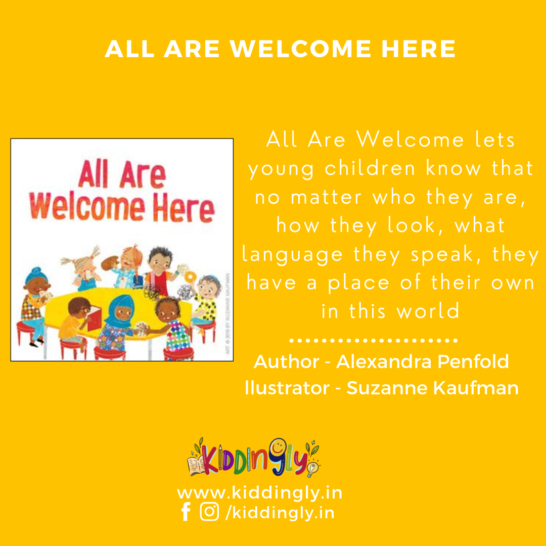All Are Welcome: Children's Book Review