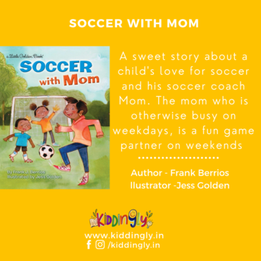 Soccer With Mom: Children's Book Review