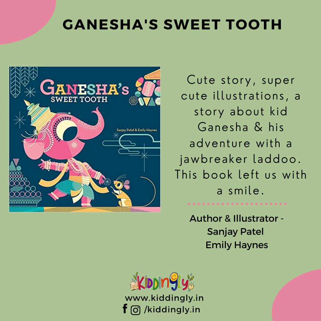 Ganesha's Sweet Tooth – Children's Book Review