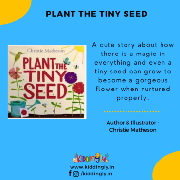 Plant The Tiny Seed: Children's Book Review