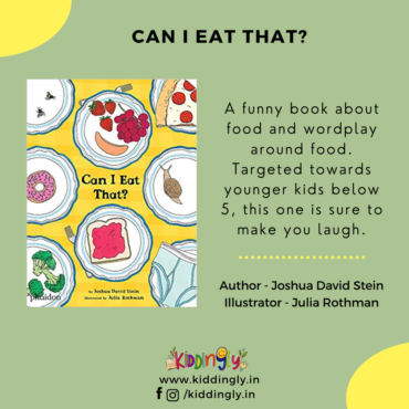 Can I Eat That – Children's Book Review