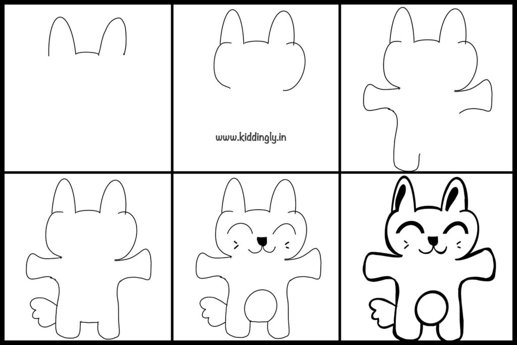 Kiddingly - DoodleTutorialKids Bunny 1024x683