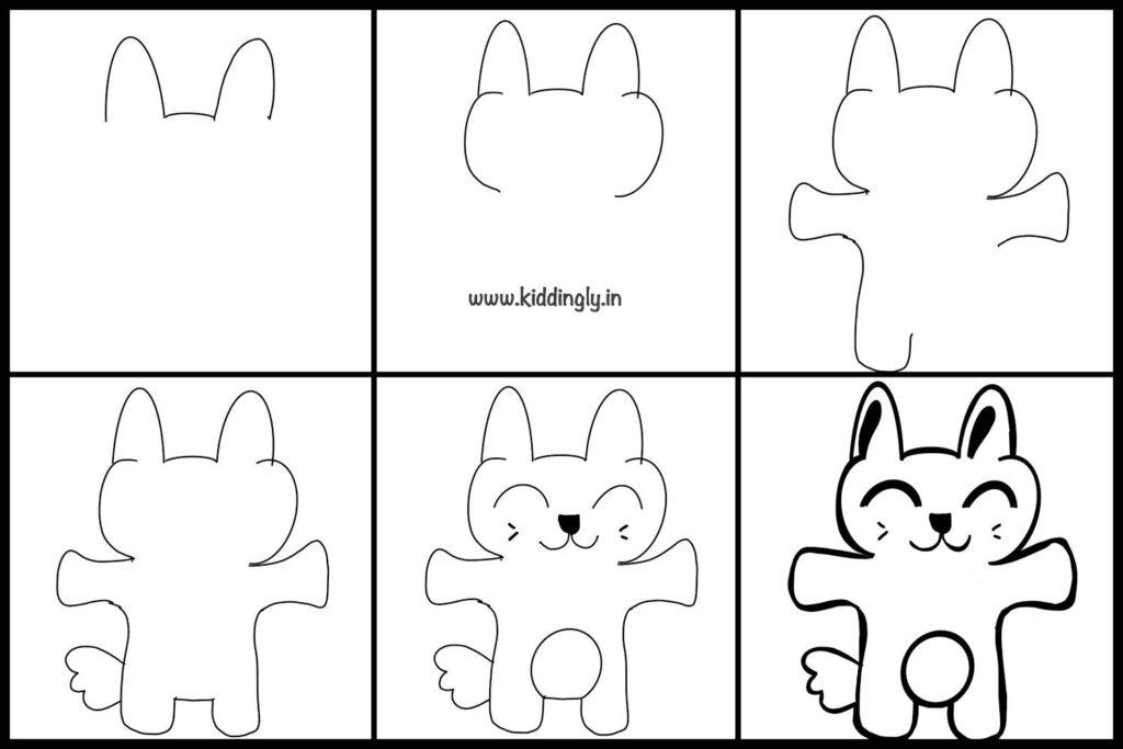 Kiddingly - DoodleTutorialKids Bunny 1024x683