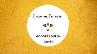 Goddess Durga: Drawing Tutorial