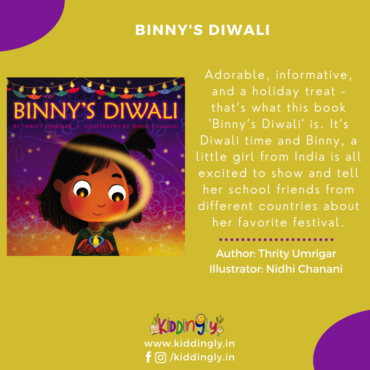 Binny's Diwali: Children's Book Review