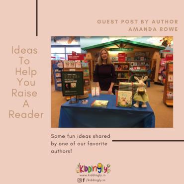 Ideas to Help You Raise a Reader: Amanda Rowe