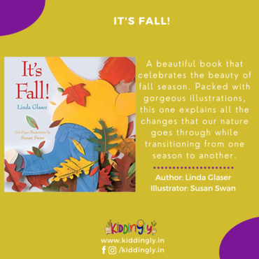 It's fall – Children's Book Review