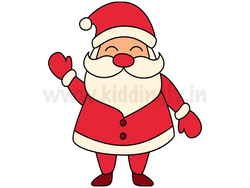 Kiddingly - How To Draw Santa Kiddingly 1024x768