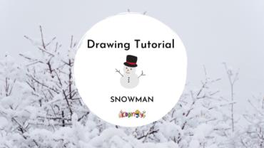 Snowman Doodle For Kids