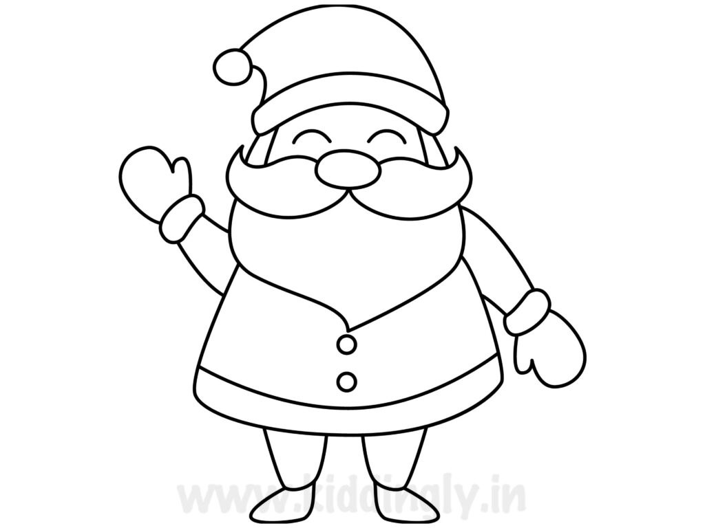 Kiddingly - Santa Drawing Kiddingly 1024x768
