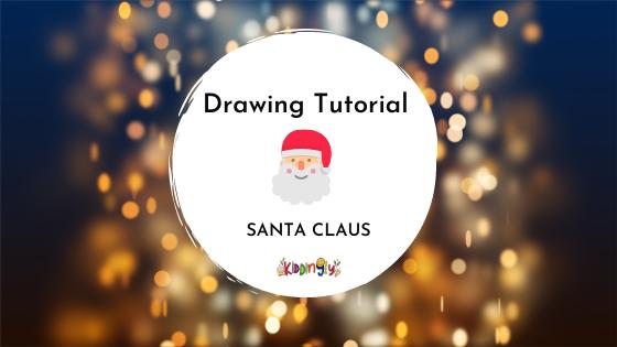 Santa Claus Doodle: Step By Step Tutorial