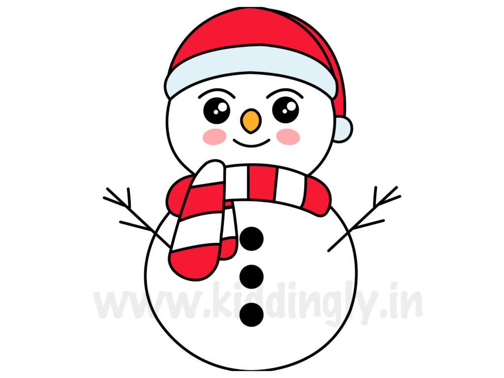 Kiddingly - Snowman Doodle Kiddingly 1024x768