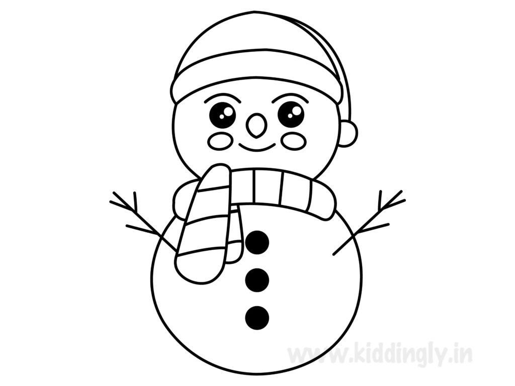 Kiddingly - Snowman Printable Kiddingly 1024x768