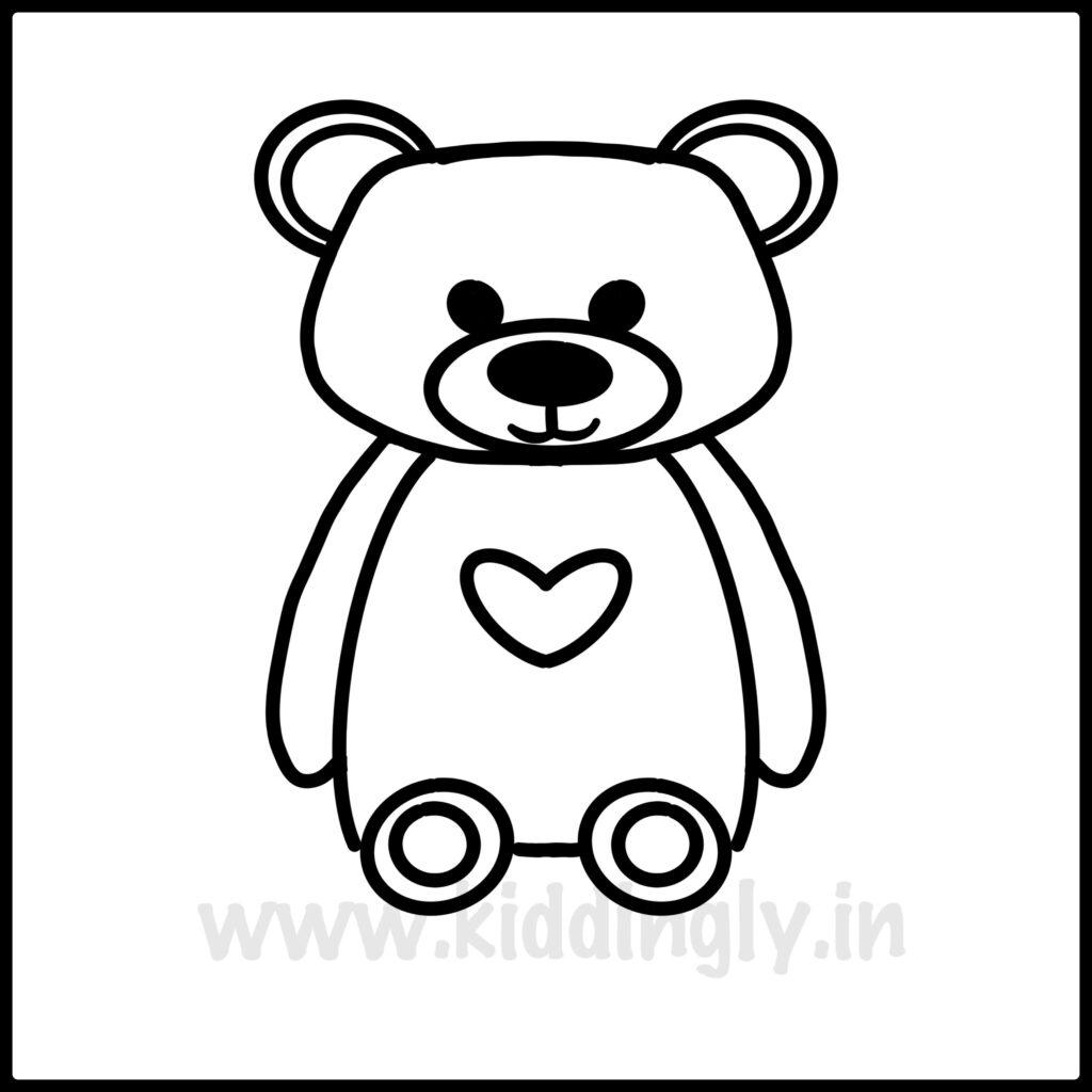Kiddingly - TeddyBearPrintable Kiddingly 1024x1024