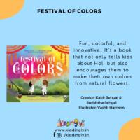 Kiddingly - Festival Of Colors Holi Children Books 200x200